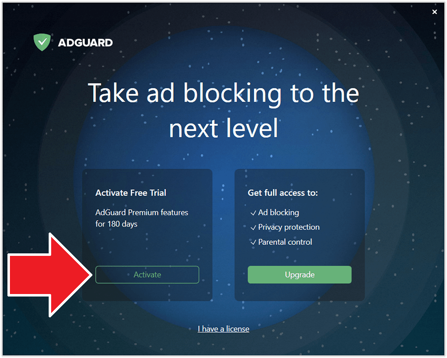 Adguard 7.6 Activating 1