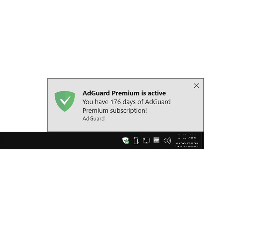 Adguard 7.6 Activating 3