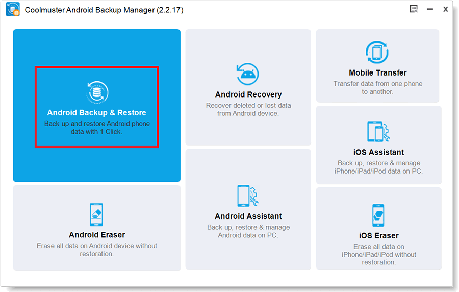 Coolmuster Android Backup Manager 2.2 Activation 1