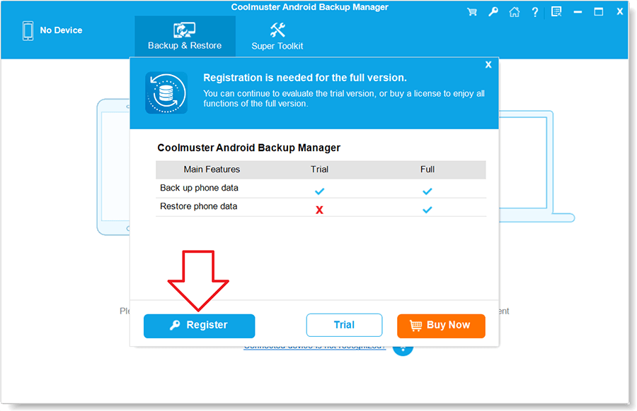 Coolmuster Android Backup Manager 2.2 Activation 3