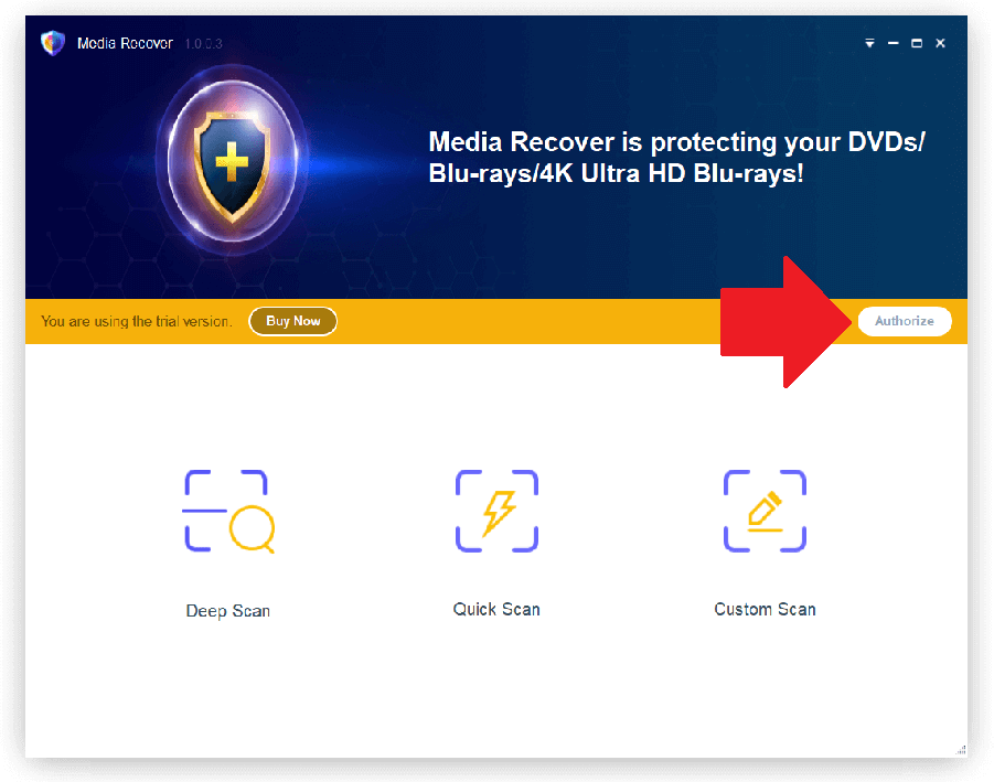 DVDFab Media Recover 1 Activating 1