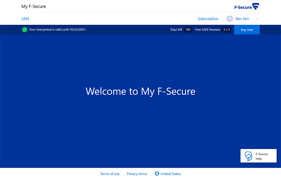 F Secure 6 Months Giveaway 2