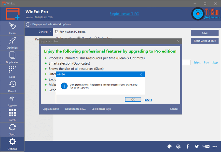 WinExt Pro 13 Activating 3