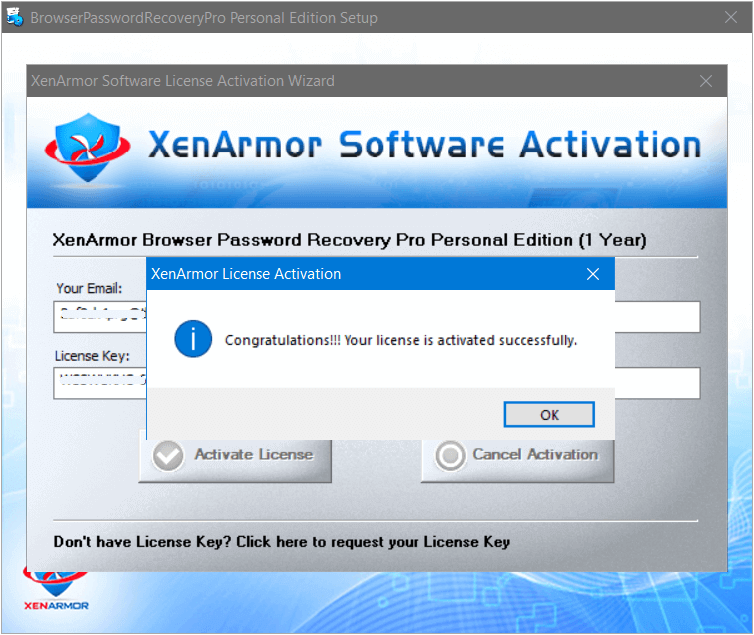 XenArmor Browser Password Recovery Pro 2021 Activating 2
