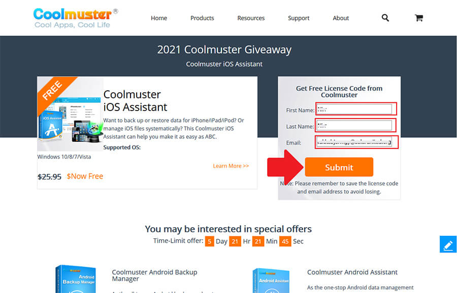Coolmuster iOS Assistant 2.41 Giveaway 1