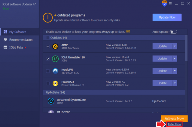 iObit Software Updater PRO 4 Activate 1 Review