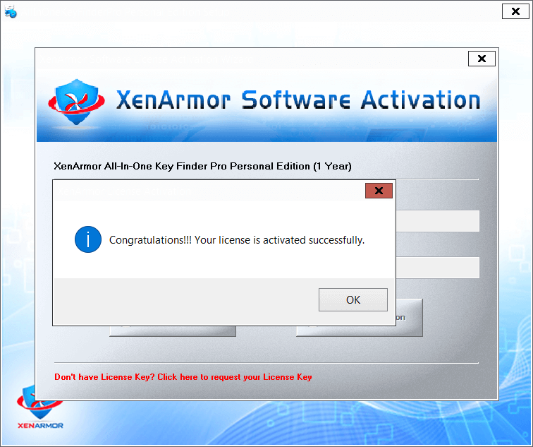XenArmor All In One Key Finder Pro 8 Activating 2